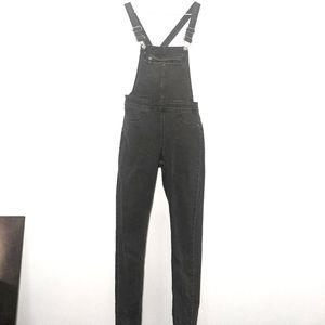 ✨SALE✨ Black Long Denim Overalls